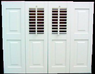 Interior Combination Shutters