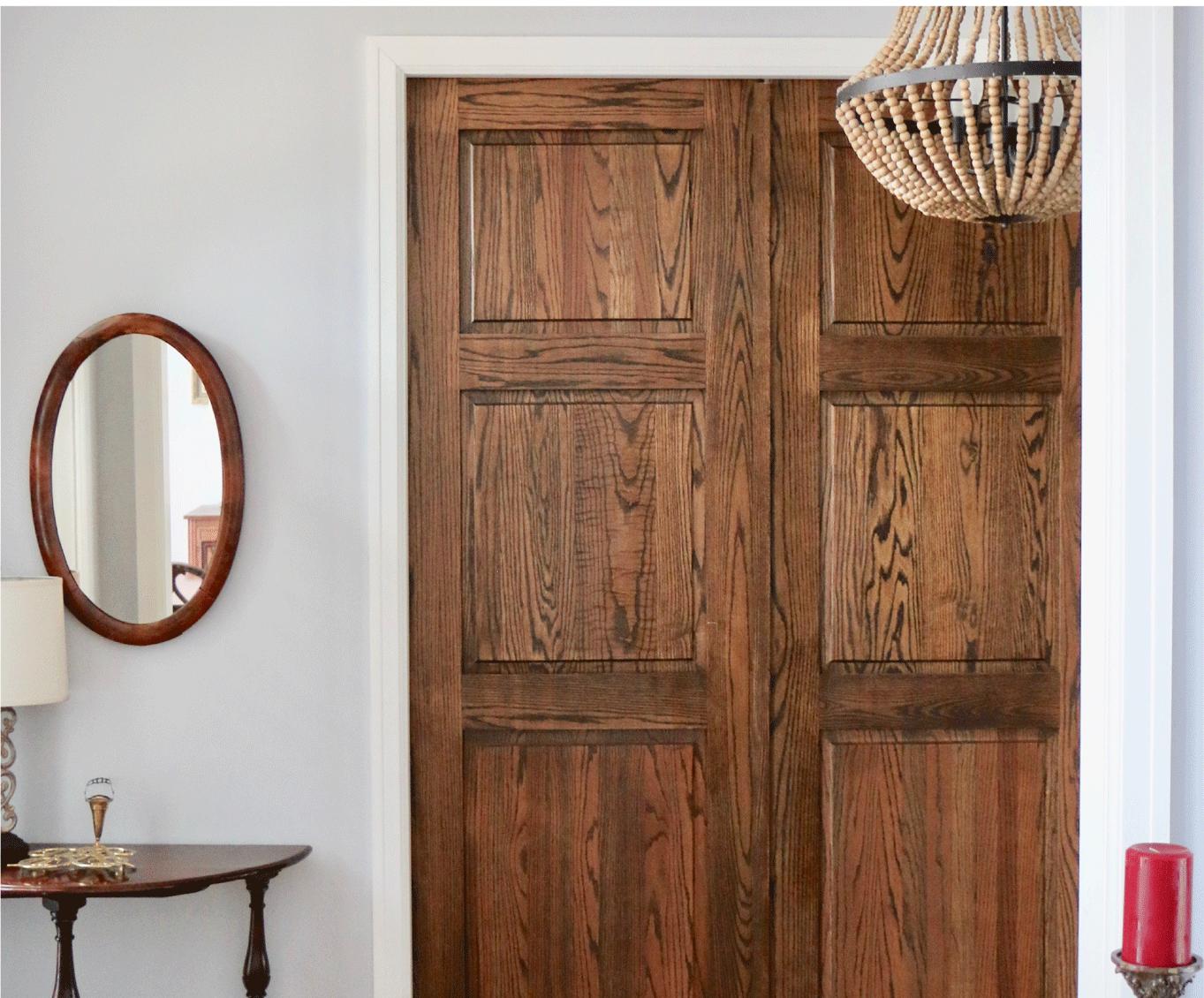 Paneled wood Doors
